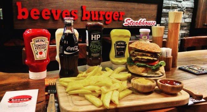 Beeves Burger ve Steakhouse Franchise Veriyor