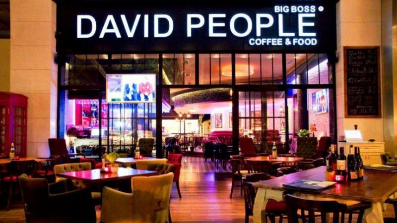 David People Coffee & Food Franchise Veriyor