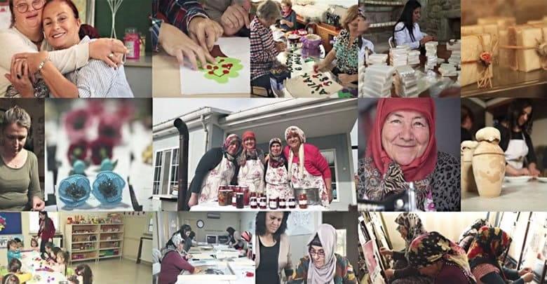Kadın Kooperatifleri Kadınların Para Kazanmasına Yardımcı Oluyor