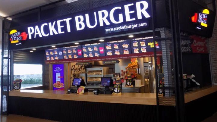 Packet Burger Franchise Veriyor