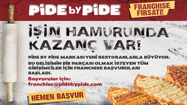 PidebyPide Franchise Modeli Girişimcisini Bekliyor