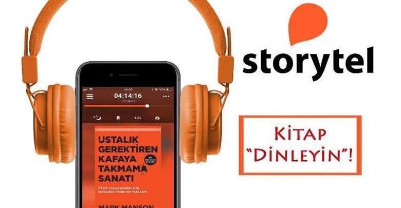 Storytel Türkiye'nin okuyuculara sağladığı avantajlar