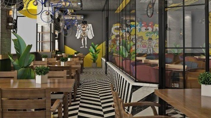 Cartoon Art Cafe Bayiliği Almak
